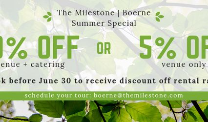 The Milestone | Boerne 1