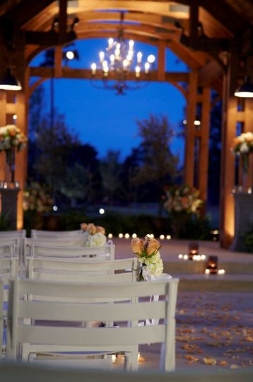 Outdoor Wedding Pavillion
