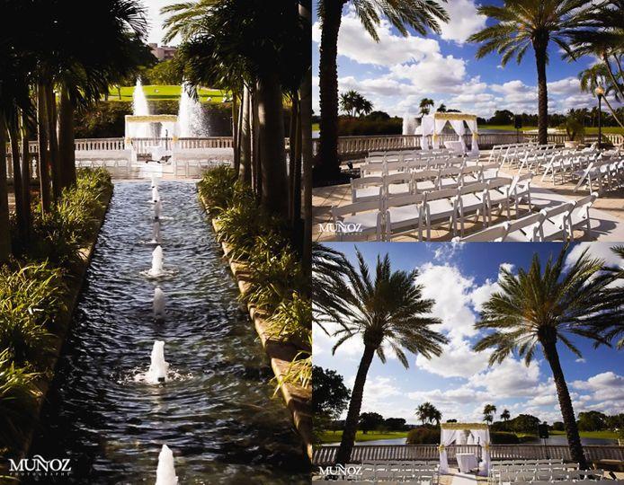 Diplomat Golf & Tennis Club, Wedding Ceremony & Reception