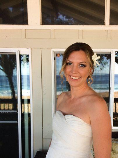 Bridal Hair/Makeup- loose updo