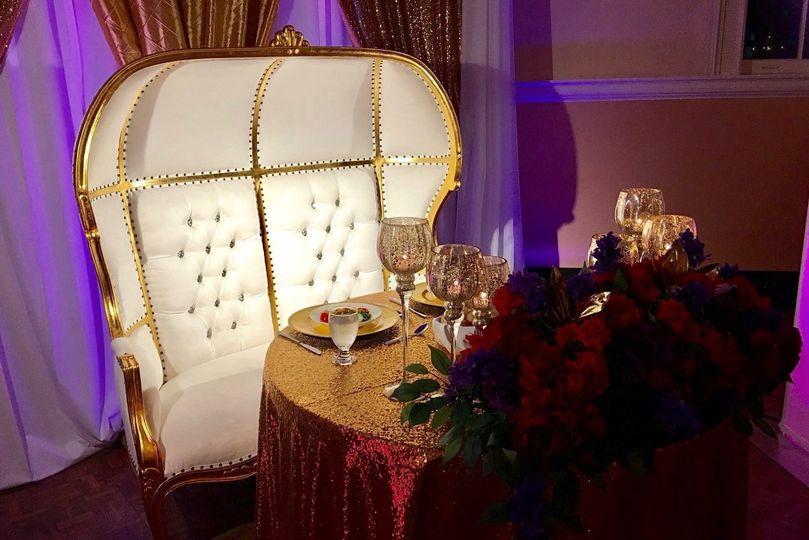 Sweetheart Table Highlighting