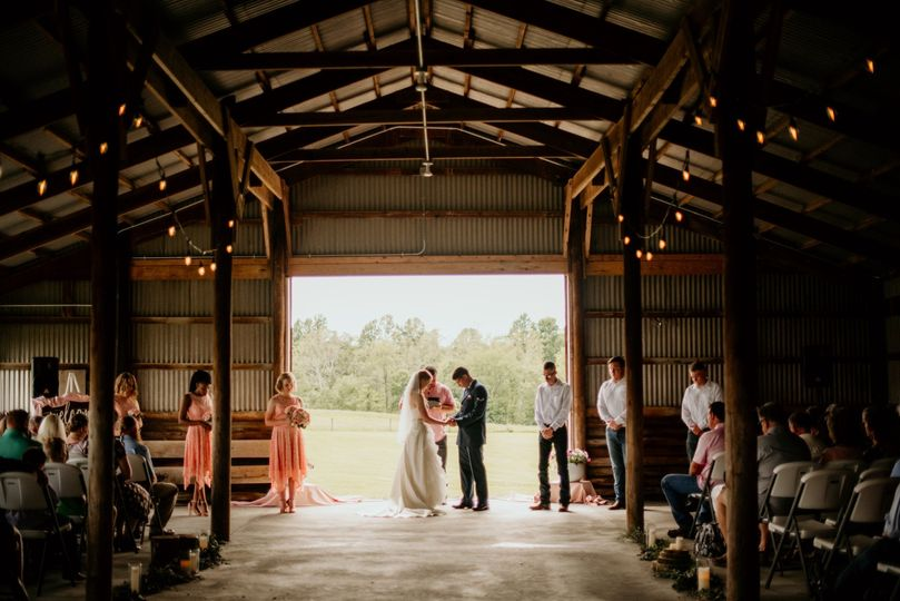 Wedding in the Pavilion