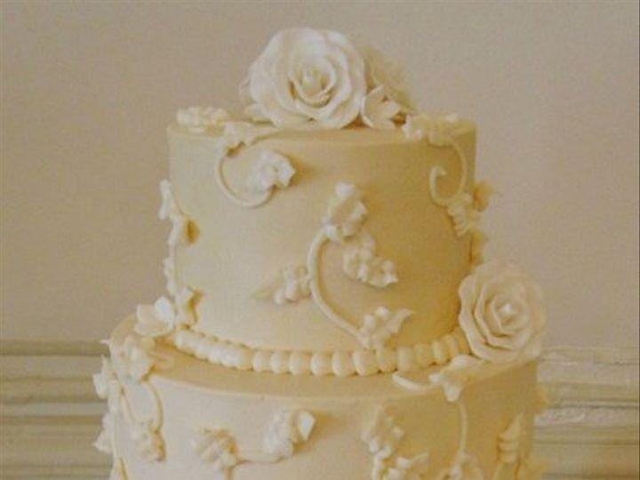 Tmx 1310449682368 Ivoryvinesandroses Overland Park wedding cake