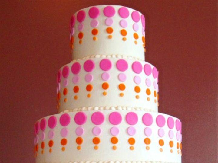 Tmx 1317740303686 Pinkdotwedding Overland Park wedding cake