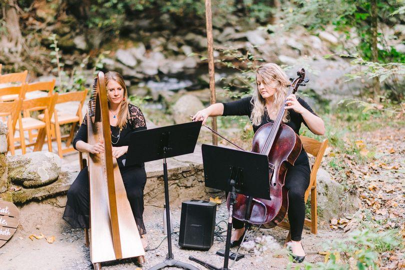 Harp + Cello Duo