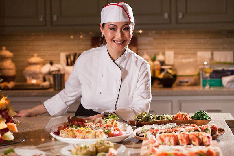 Sushiriko's chef
