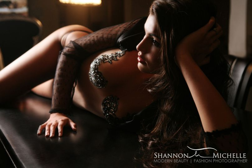 Boudoir featuring Black Lace Skin Jewelry