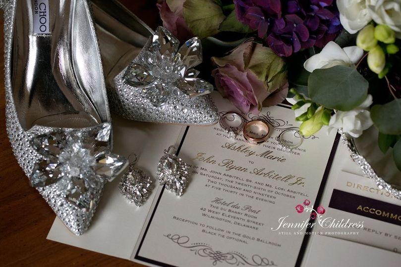 Glamorous details