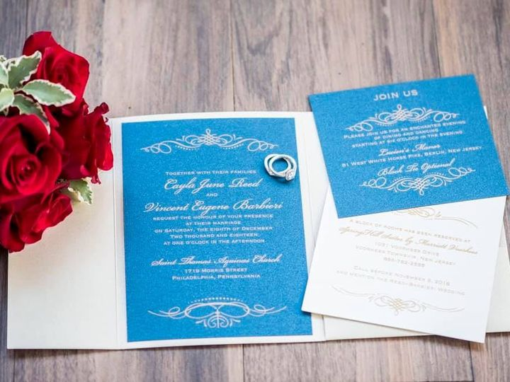 Tmx 49761437 10217693769074167 5693100578163392512 N Copy 51 969476 1555500731 Downingtown, PA wedding invitation