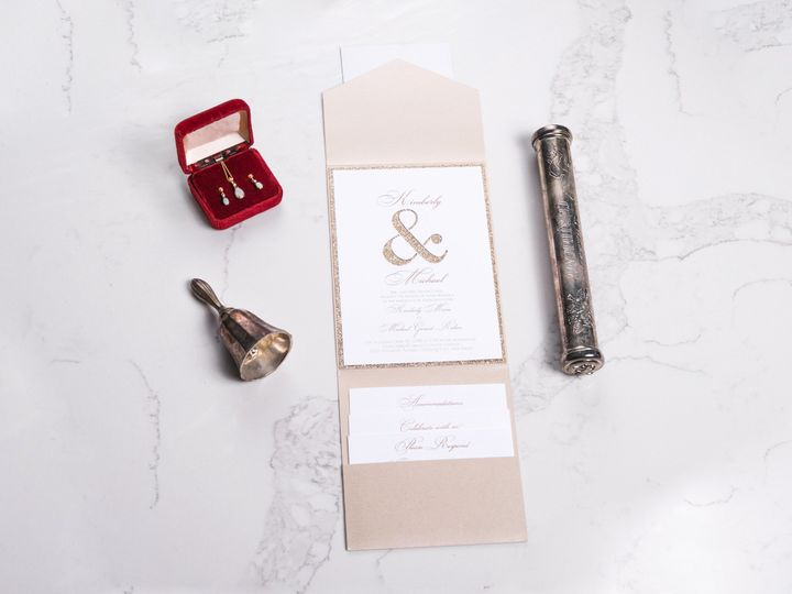 Tmx I Do 008 51 969476 Downingtown, PA wedding invitation