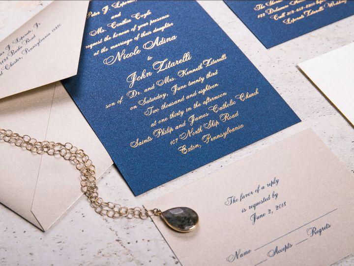 Tmx I Do 014 8x10 51 969476 159898622220854 Downingtown, PA wedding invitation
