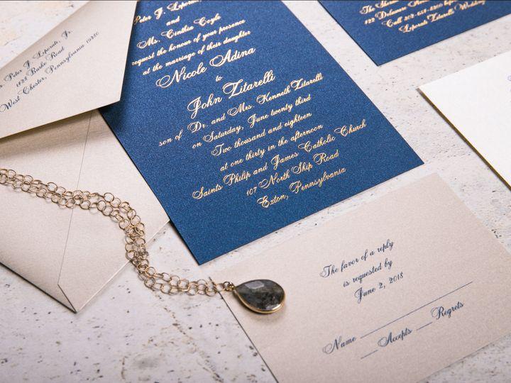 Tmx I Do 014 51 969476 Downingtown, PA wedding invitation