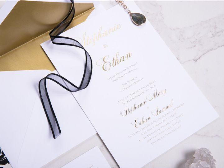 Tmx I Do 028 51 969476 Downingtown, PA wedding invitation