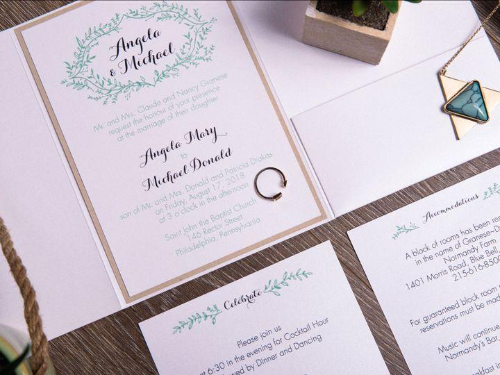 Tmx I Do 038 51 969476 Downingtown, PA wedding invitation