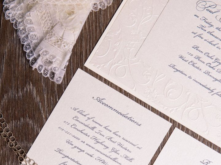Tmx I Do 050 51 969476 Downingtown, PA wedding invitation