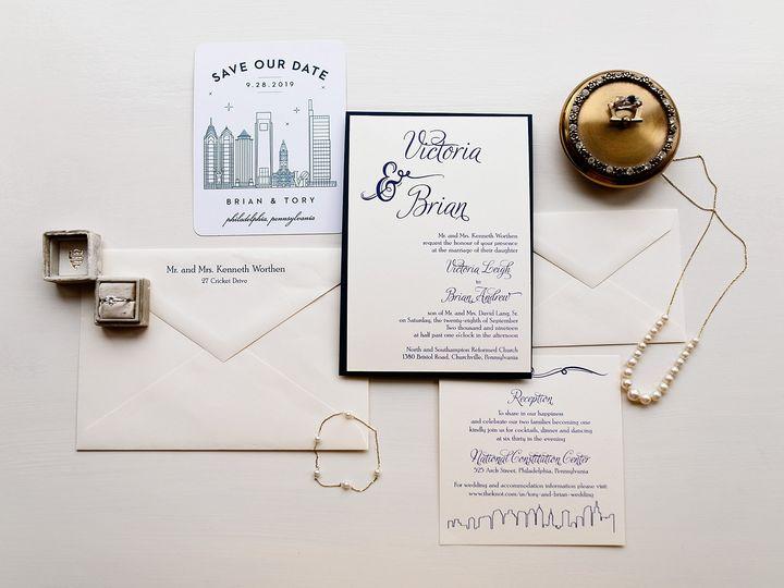 Tmx National Constitution Center Wedding Philadelphia Wedding Photographer Philly Wedding 06 51 969476 1572688300 Downingtown, PA wedding invitation