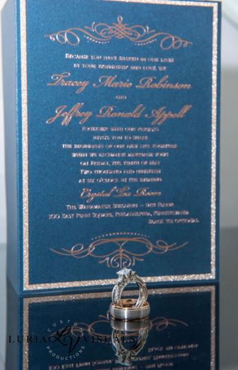 Rings and invitations
