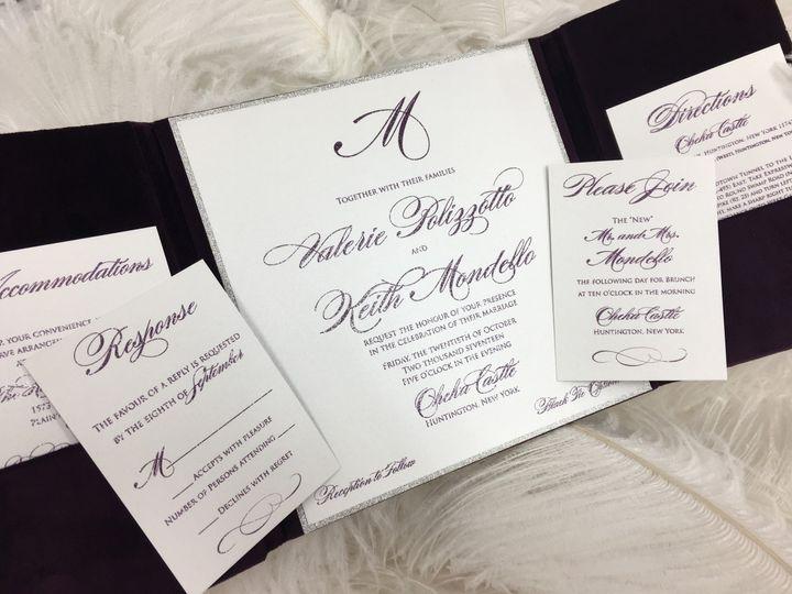 Tmx 1510101633048 Img5461 Massapequa Park, NY wedding invitation
