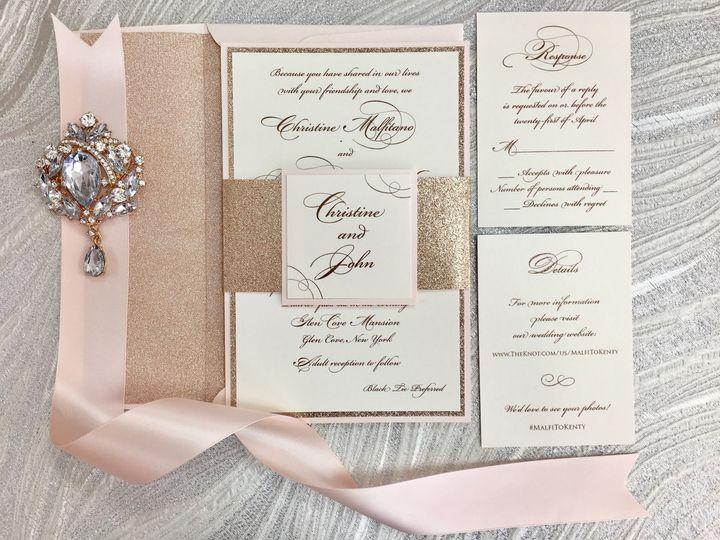 Tmx 1510101685209 Img9105 Massapequa Park, NY wedding invitation
