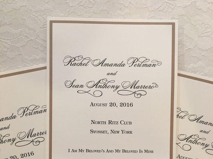 Tmx 1510101929747 Img4305 Massapequa Park, NY wedding invitation