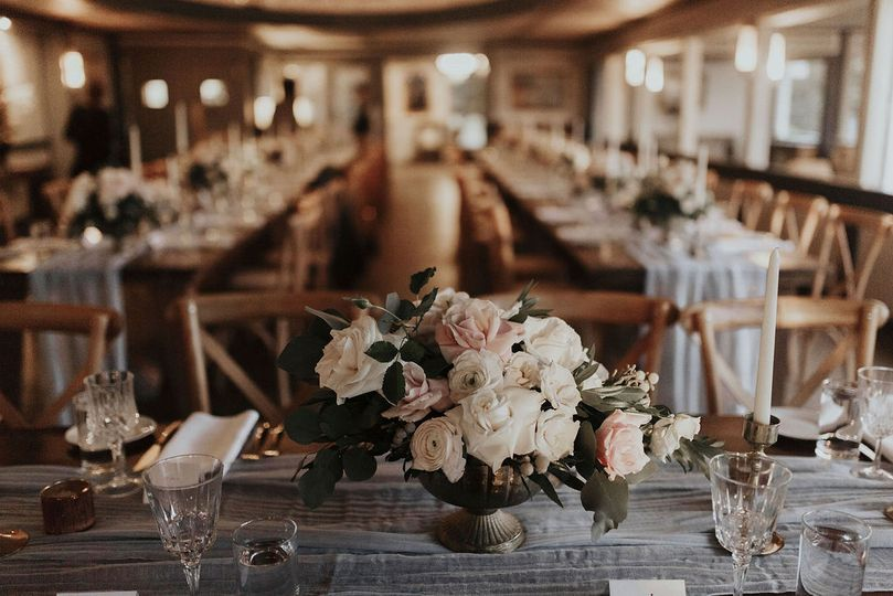 Main dining room set up