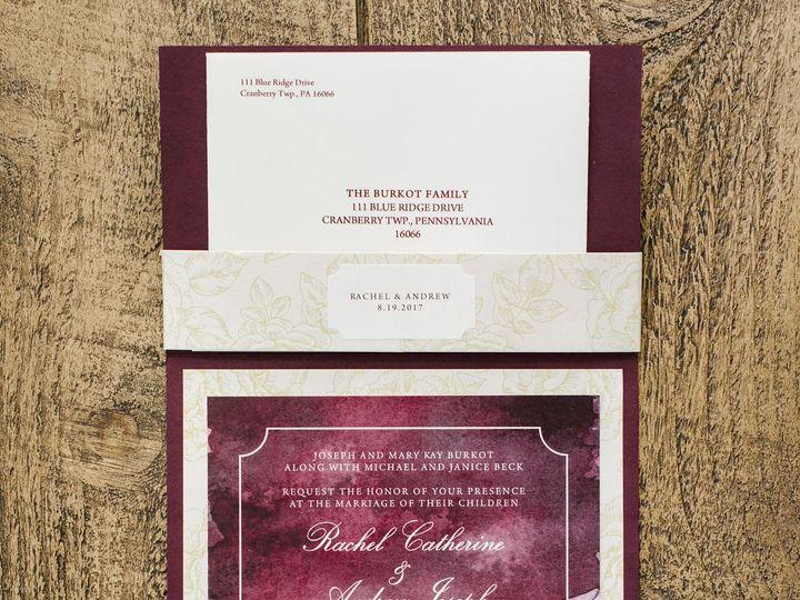 Tmx 1513135933095 Paper By Jleebeck Wedding Invitation New York, NY wedding invitation