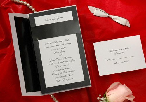 Wedding Invitation elegance Good for Tuxedo Affair or Dressy Dress Karen Jewell Personal Assistance,...
