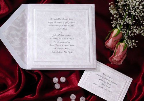 Wedding Scroll Invitation-Lined envelopes, Hand Calligraphy from owner, Karen Jewell 25 years...