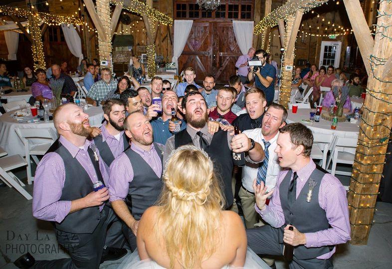 Wedding celebration `