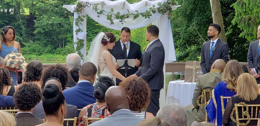 Wedding nuptials