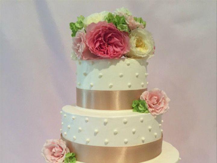 Tmx 1446146654970 Three Tier Garden Wedding Cakeipiccy Costa Mesa wedding cake