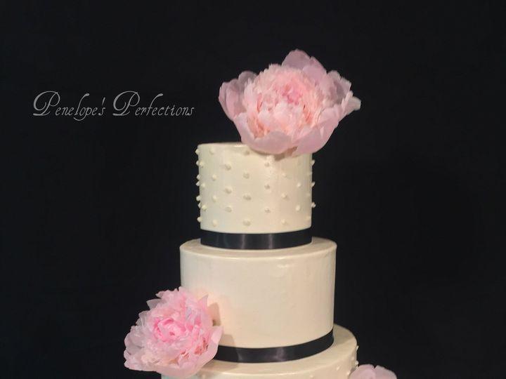 Tmx 1446146692064 Peonies Wedding Cakeipiccy Costa Mesa wedding cake