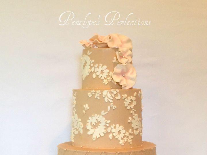 Tmx 1446146739110 Lace Cakeipiccy Costa Mesa wedding cake