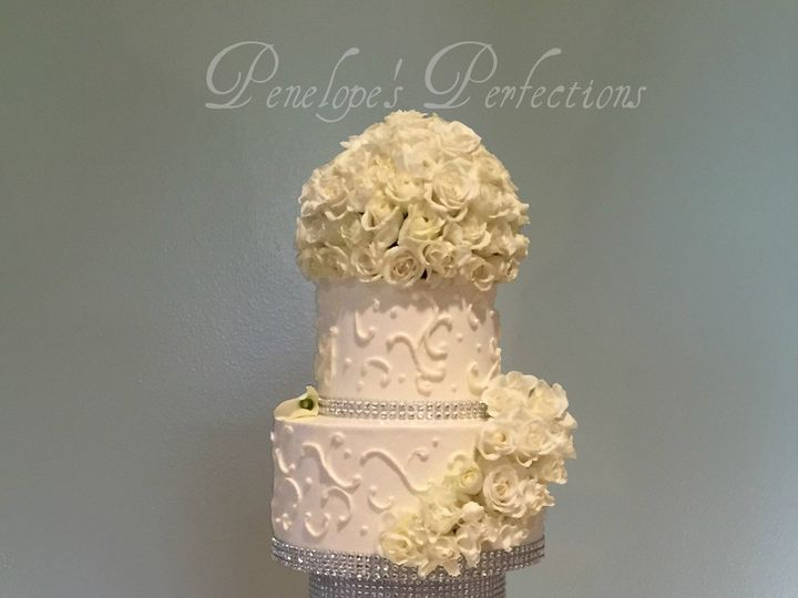 Tmx 1446146774753 Goodcallalilliesipiccy Costa Mesa wedding cake