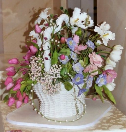 The Wedding Basket speaks to an era when wedding guests walked together to the site of the ceremony...