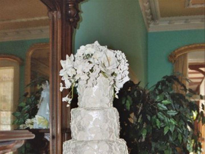 Tmx 1182353688531 BrocadeWeddingCake Bridgeton wedding cake