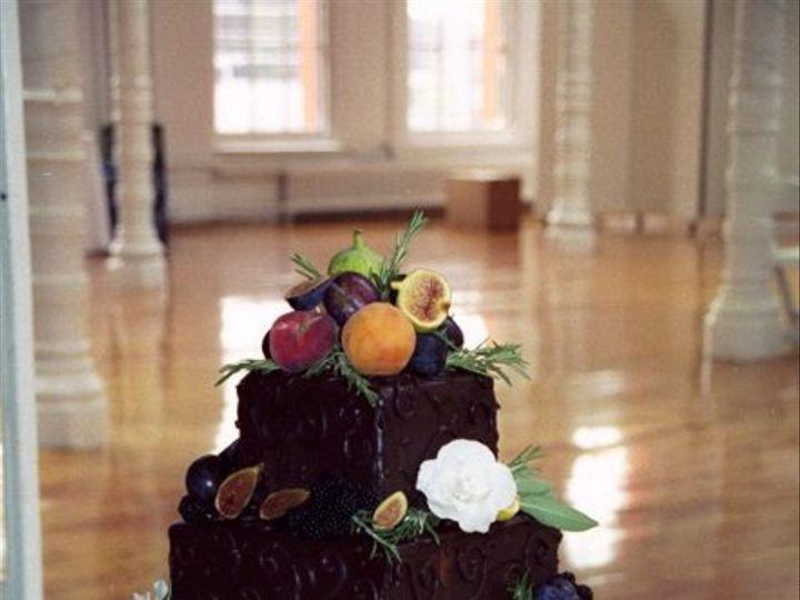 Tmx 1182354233421 Chocolatefruitsandflowers Bridgeton wedding cake