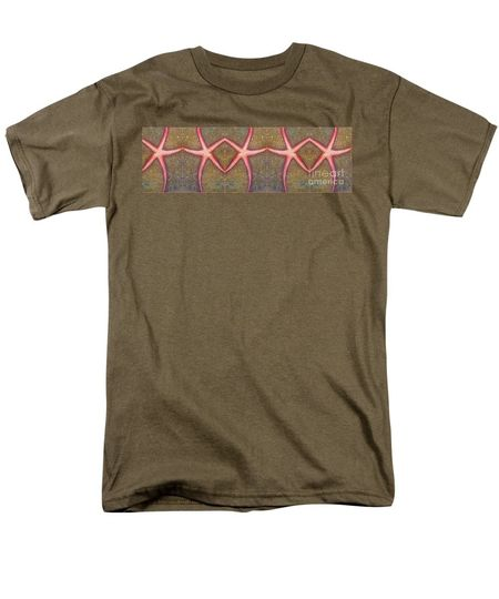starfish pattern bar amy brown tshirt