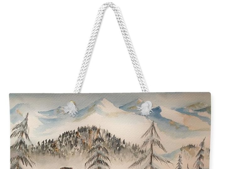 Tmx 1497043785295 Cabin In The Rockies Amy Brown Totebag Westminster wedding favor