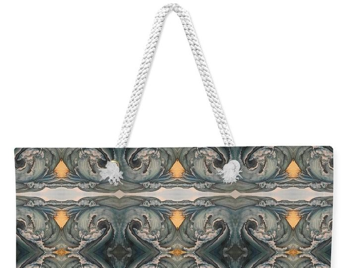 Tmx 1497043875599 Tsunami Mirror Pattern Amy Brown Tote Westminster wedding favor