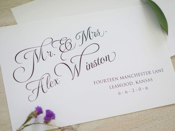 Tmx 1460475499880 8165a28654aa1b4d39468a81a7ab9493a8d0ae Englishtown, New Jersey wedding invitation