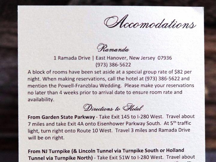 Tmx 1460476150739 8165a25c3c8d6009754aa8ae52a72f97c2acfd Englishtown, New Jersey wedding invitation