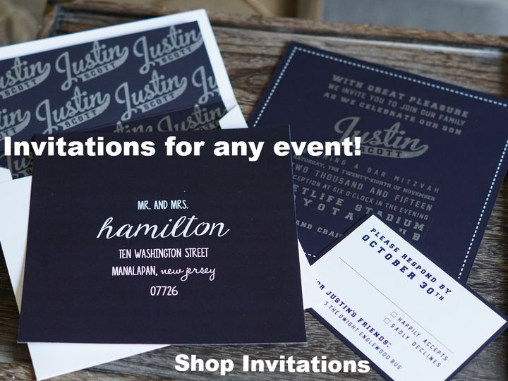 Tmx 1460476190399 8165a26141900c641245a5b2c890d735406200 Englishtown, New Jersey wedding invitation