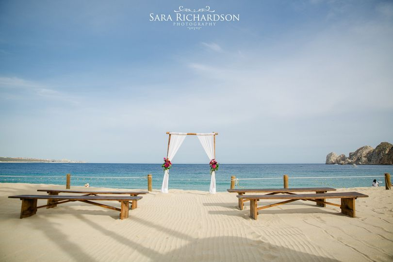 Beach Ceremony, Destination Wedding Planner