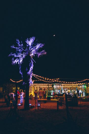 Lighted Tent - Cabo Pulmo Mex