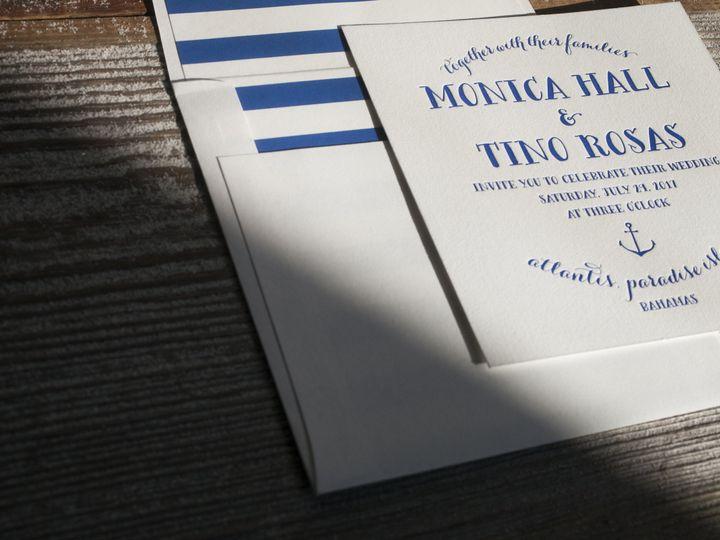 Tmx 1395170185669 Nassau  Costa Mesa wedding invitation
