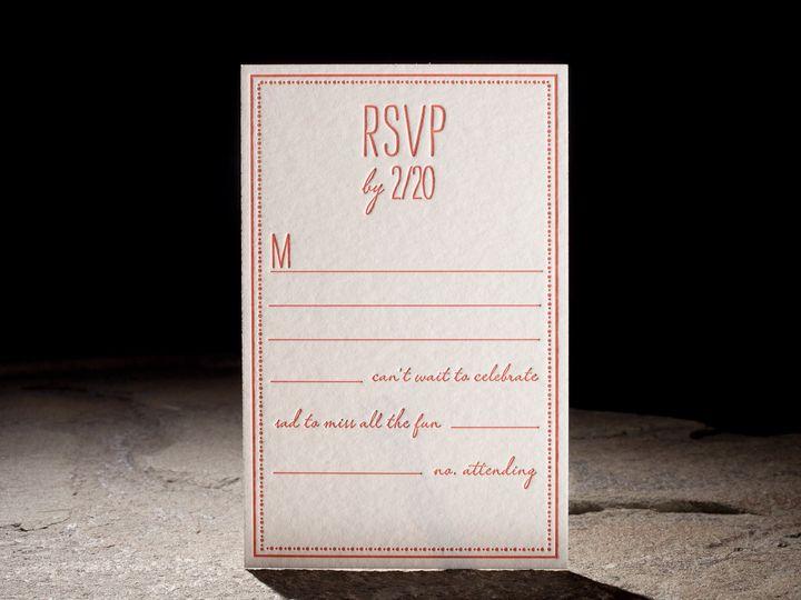 Tmx 1395170288970 Fremont02   Cop Costa Mesa wedding invitation