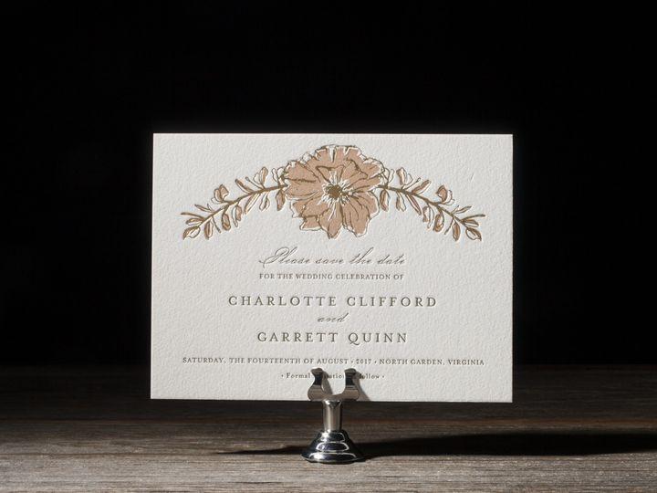 Tmx 1395172655731 Seraphina Letterpress Sample  Costa Mesa wedding invitation