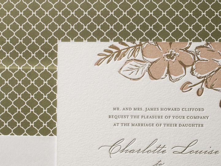 Tmx 1395172686878 Seraphina Letterpress Sample  Costa Mesa wedding invitation