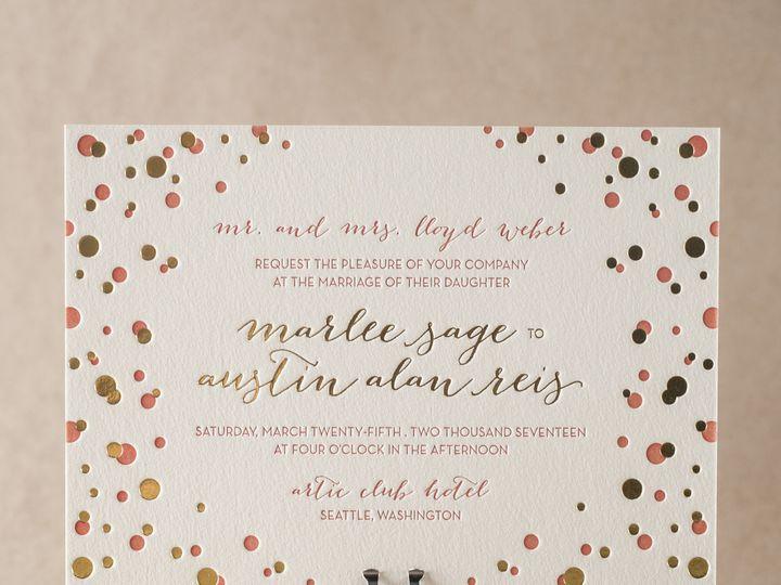 Tmx 1395187361205 Modern Revelr Costa Mesa wedding invitation